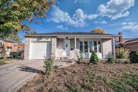 House for sale at 317 Balmoral Dr Brampton Ontario - MLS: W4621264
