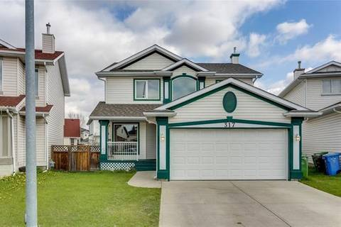 House for sale at 317 Coral Springs Pl Northeast Calgary Alberta - MLS: C4244916