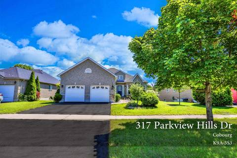 House for sale at 317 Parkview Hills Dr Cobourg Ontario - MLS: X4538648