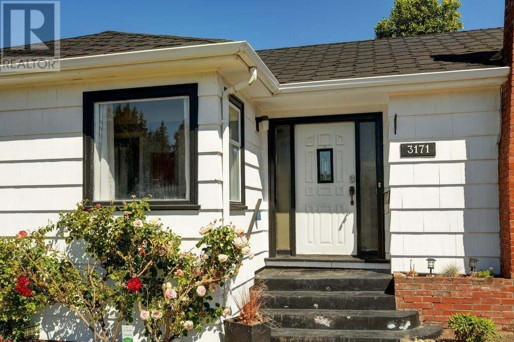 House for sale at 3171 Carman  Saanich British Columbia - MLS: 850419