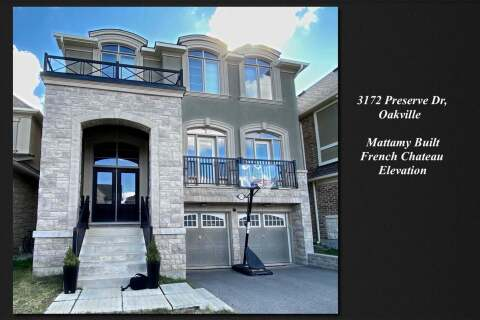 House for sale at 3172 Preserve Dr Oakville Ontario - MLS: W4845315