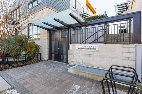 Townhouse for sale at 3174 Prince Edward St Vancouver British Columbia - MLS: R2344912