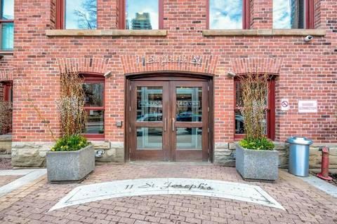 Apartment for rent at 11 St Joseph St Unit 318 Toronto Ontario - MLS: C4693445