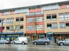 Sold: 318 - 2250 Commercial Drive, Vancouver, BC