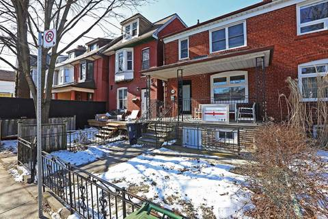 Townhouse for rent at 318 Brock Ave Toronto Ontario - MLS: C4699400