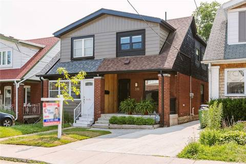 Townhouse for sale at 318 Monarch Park Ave Toronto Ontario - MLS: E4514662