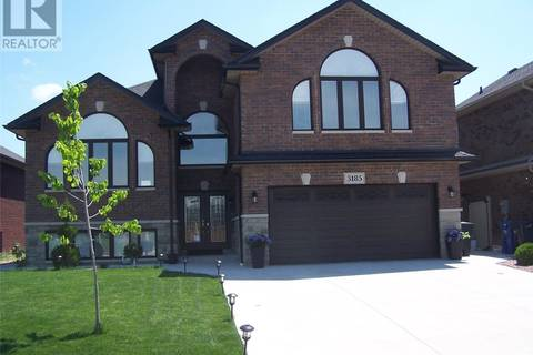 House for sale at 3185 Leisure Cres Windsor Ontario - MLS: 19018931