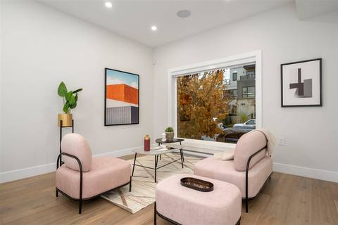 Townhouse for sale at 3187 Prince Edward Ave E Vancouver British Columbia - MLS: R2420605