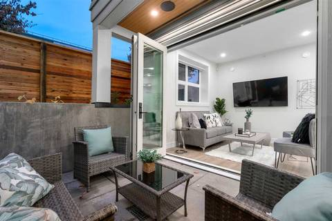 Townhouse for sale at 3189 Prince Edward Ave E Vancouver British Columbia - MLS: R2417912