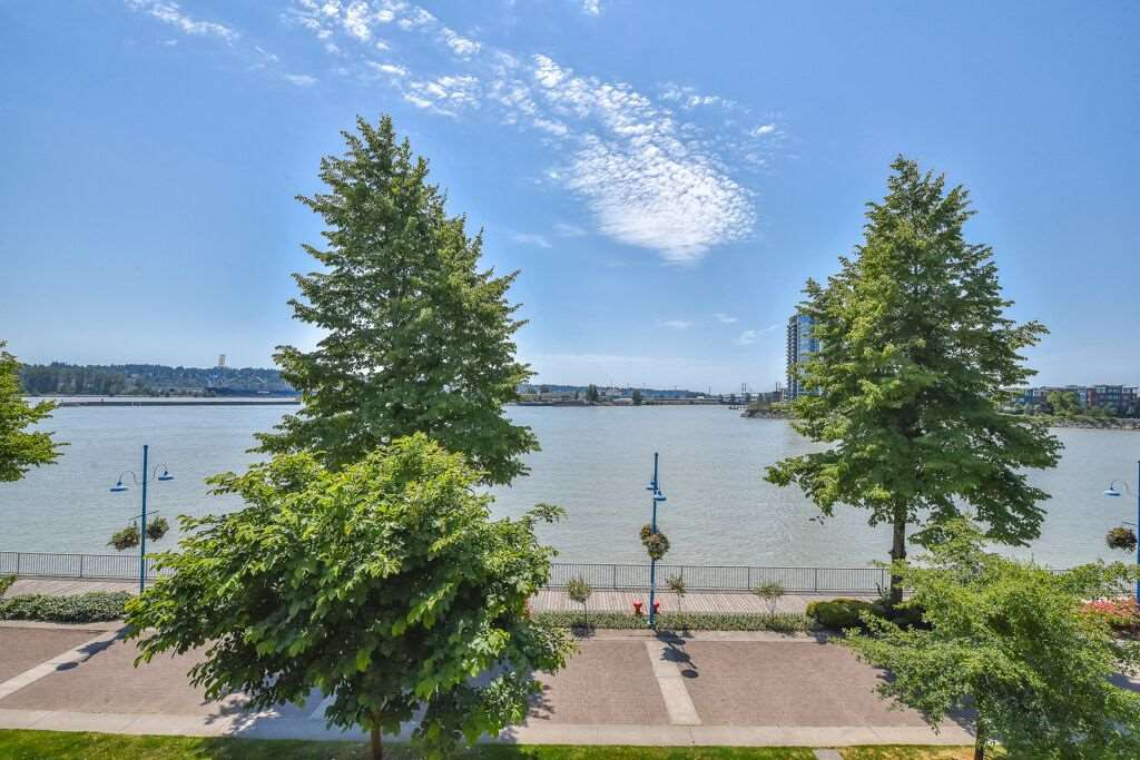 For Sale: 319 - 1150 Quayside Drive, New Westminster, BC | 2 Bed, 2 Bath Condo for $799,900. See 20 photos!
