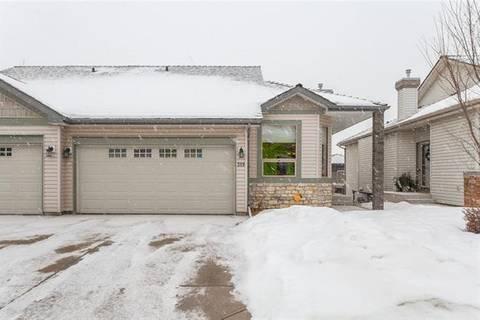 Townhouse for sale at 319 Springbank Villa(s) Southwest Calgary Alberta - MLS: C4264318