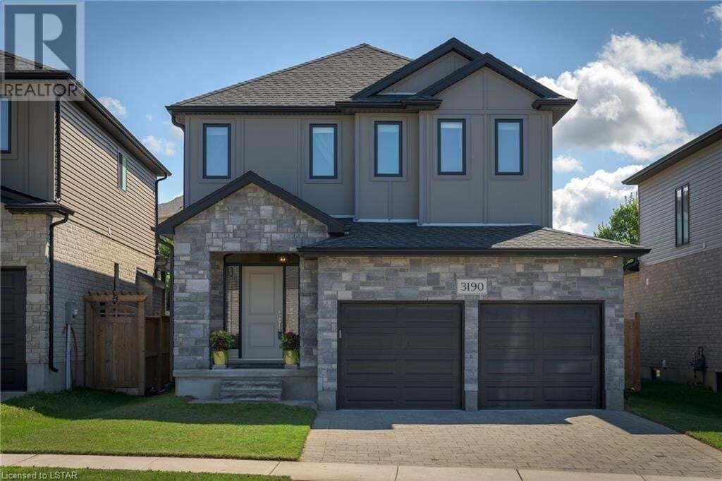 House for sale at 3190 Raleigh Cres London Ontario - MLS: 279554
