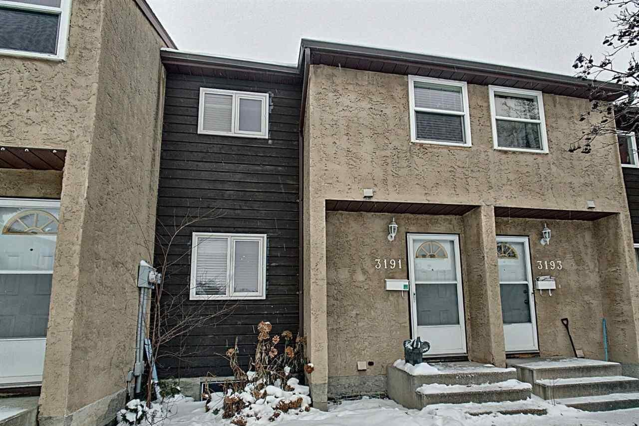 Townhouse for sale at 3191 139 Av NW Edmonton Alberta - MLS: E4221387