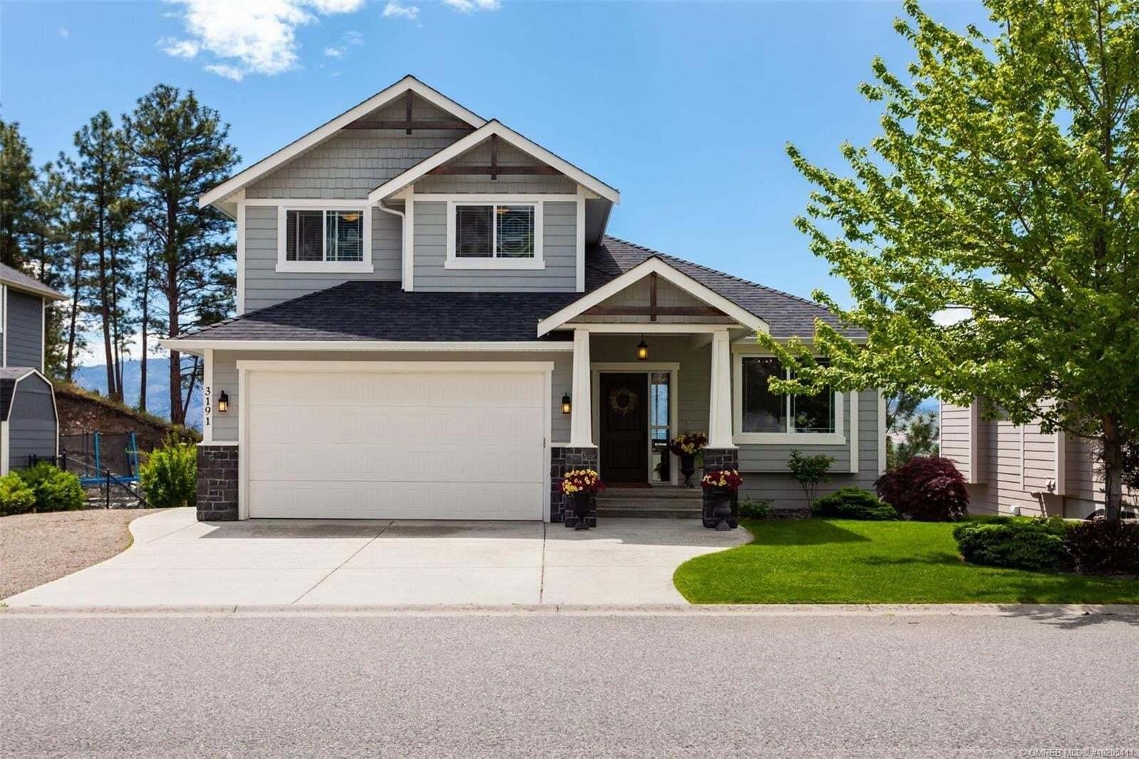 House for sale at 3191 Saddleback Pl West Kelowna British Columbia - MLS: 10205411