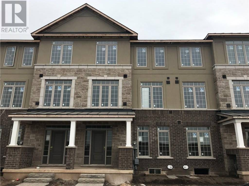 Townhouse for sale at 3191 William Coltson Ave Halton Ontario - MLS: 30775463