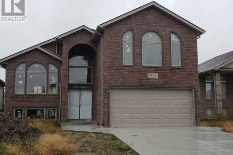 House for sale at 3196 Arpino  Windsor Ontario - MLS: 18010003