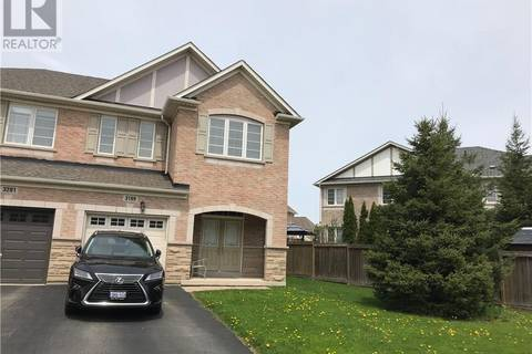 Townhouse for rent at 3199 Epworth Cres Oakville Ontario - MLS: 30736518