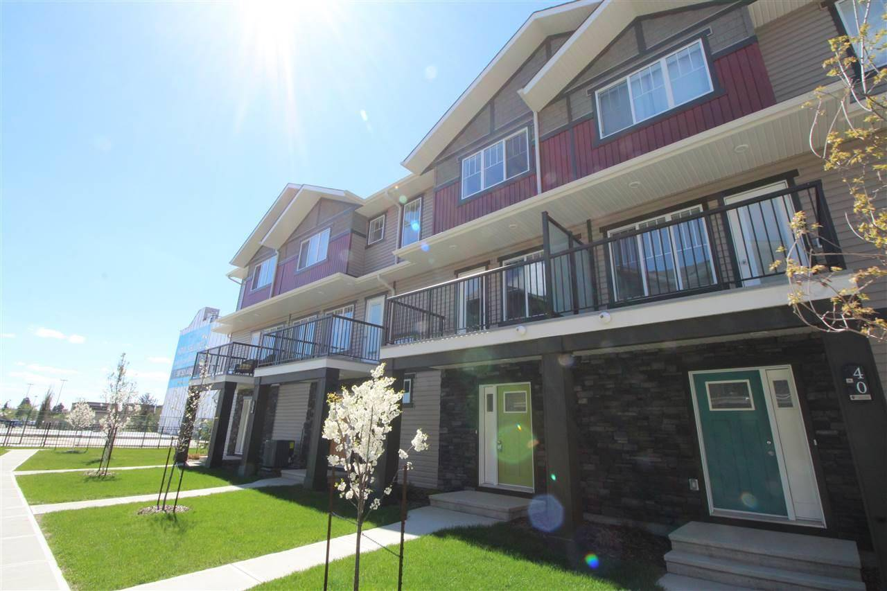 Townhouse for sale at 165 Cy Becker Blvd Nw Unit 32 Edmonton Alberta - MLS: E4175209