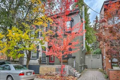 Townhouse for rent at 32 Bishop St Toronto Ontario - MLS: C4451400