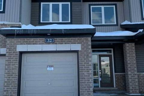 Townhouse for rent at 32 Damselfish Wk Ottawa Ontario - MLS: X4639277