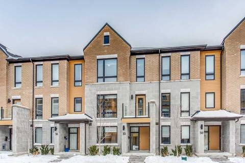 Townhouse for sale at 32 Kenneth Wood Cres Toronto Ontario - MLS: C4701375