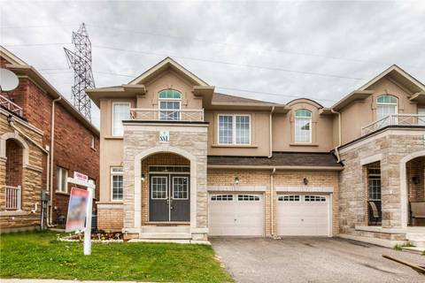Townhouse for sale at 32 Leadership Dr Brampton Ontario - MLS: W4458884