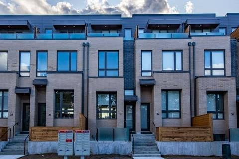 Townhouse for rent at 32 Perth Ave Toronto Ontario - MLS: C4594655