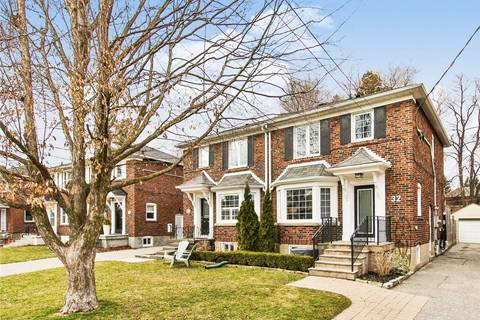 Townhouse for sale at 32 Thursfield Cres Toronto Ontario - MLS: C4731857