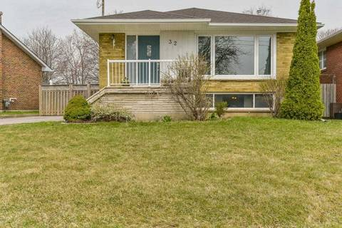 House for sale at 32 Vradenberg Dr Toronto Ontario - MLS: E4424727
