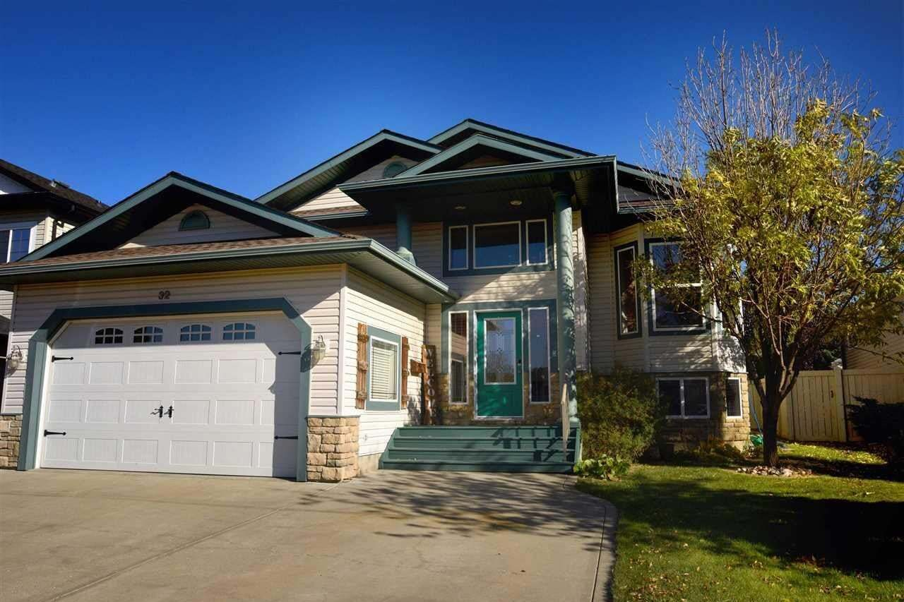 House for sale at 32 Willow Park Rd Stony Plain Alberta - MLS: E4216116
