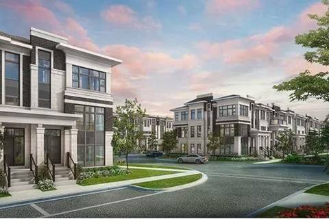 Townhouse for sale at 32 Wuhan Ln Markham Ontario - MLS: N4728085
