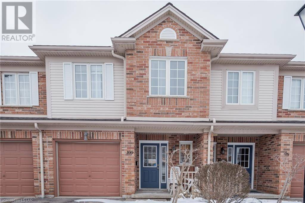 Townhouse for sale at 100 Ambleside Dr Unit 320 London Ontario - MLS: 244945