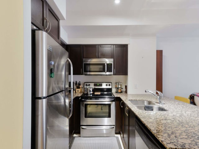 For Sale: 320 - 4700 Highway 7 , Vaughan, ON | 1 Bed, 2 Bath Condo for $459,990. See 17 photos!