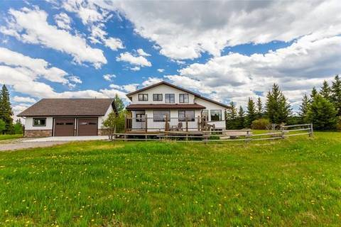 House for sale at 320141 2311 Dr West Rural Foothills County Alberta - MLS: C4252742