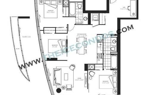 Apartment for rent at 12 York St Unit 3204 Toronto Ontario - MLS: C4725941