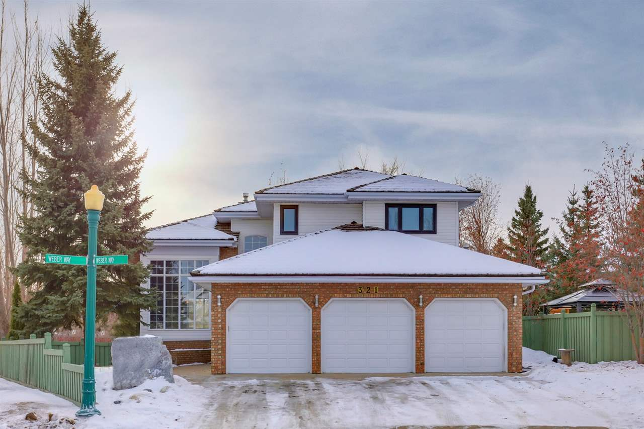 For Sale: 321 Weber Way, Edmonton, AB | 5 Bed, 4 Bath House for $589,900. See 29 photos!