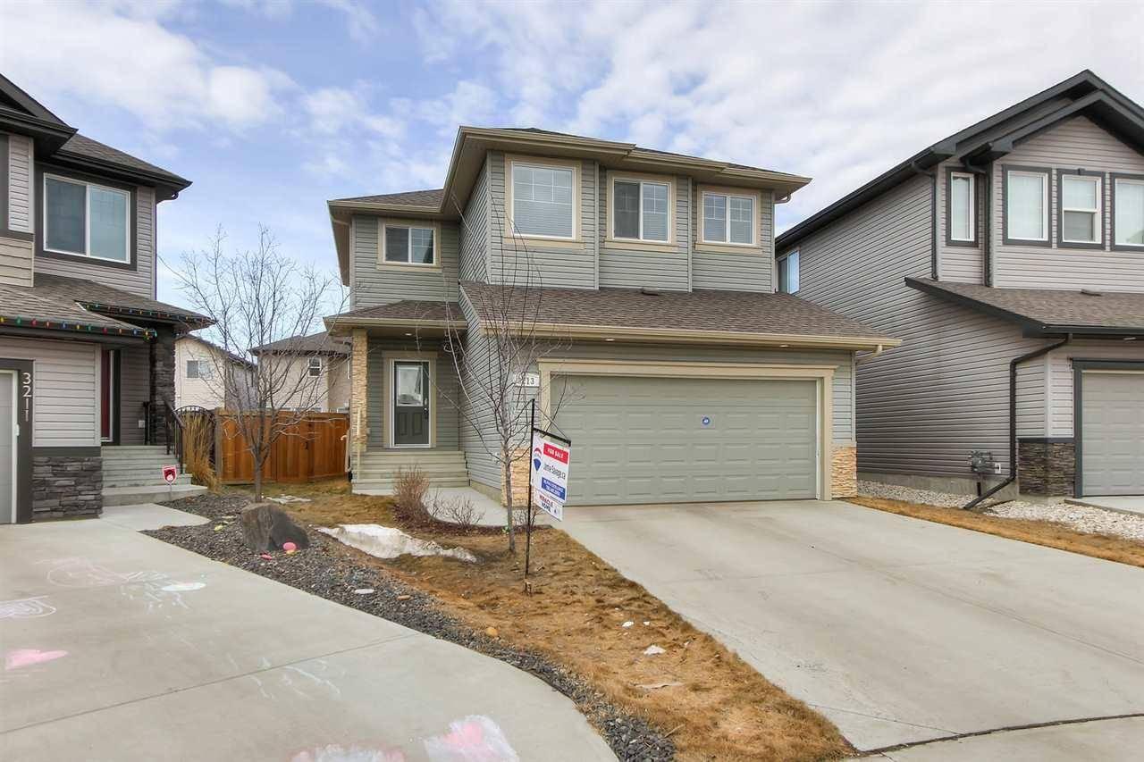 House for sale at 3213 Hilton Ct Nw Edmonton Alberta - MLS: E4194549