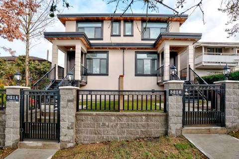 Townhouse for sale at 3216 Vimy Cres Vancouver British Columbia - MLS: R2432329