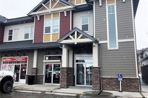 Commercial property for sale at 101 Sunset Dr Unit 3217 Cochrane Alberta - MLS: C4292751