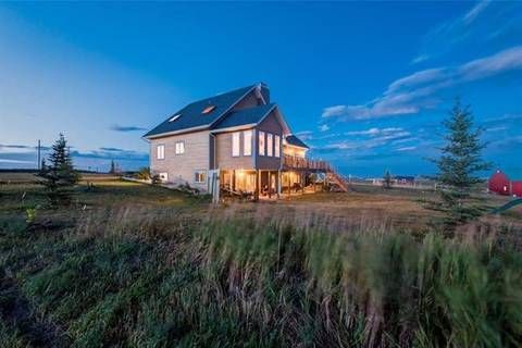 House for sale at 32199 562 Ave West Rural Foothills County Alberta - MLS: C4271077