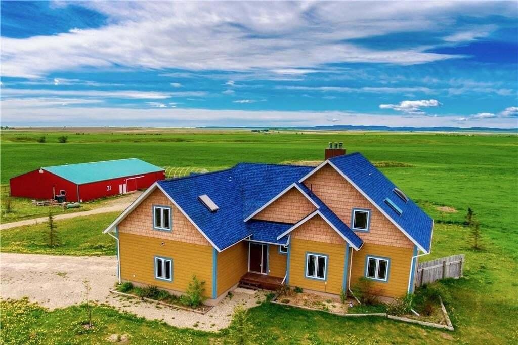 House for sale at 32199 562 Av W Rural Foothills M.d. Alberta - MLS: C4299771