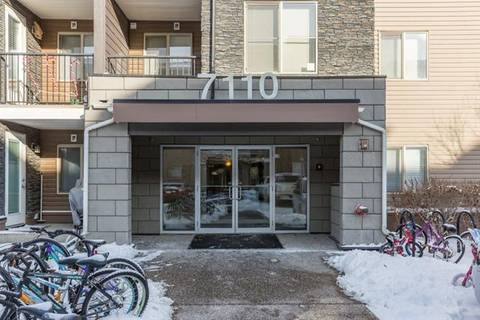 Condo for sale at 7110 80 Ave Northeast Unit 322 Calgary Alberta - MLS: C4285522