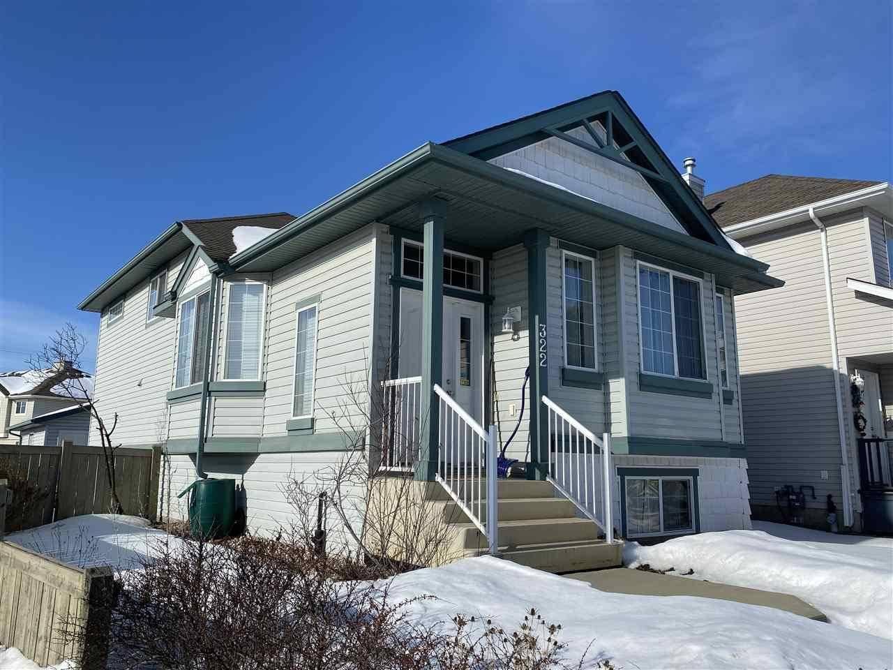 House for sale at 322 85 St Sw Edmonton Alberta - MLS: E4188660