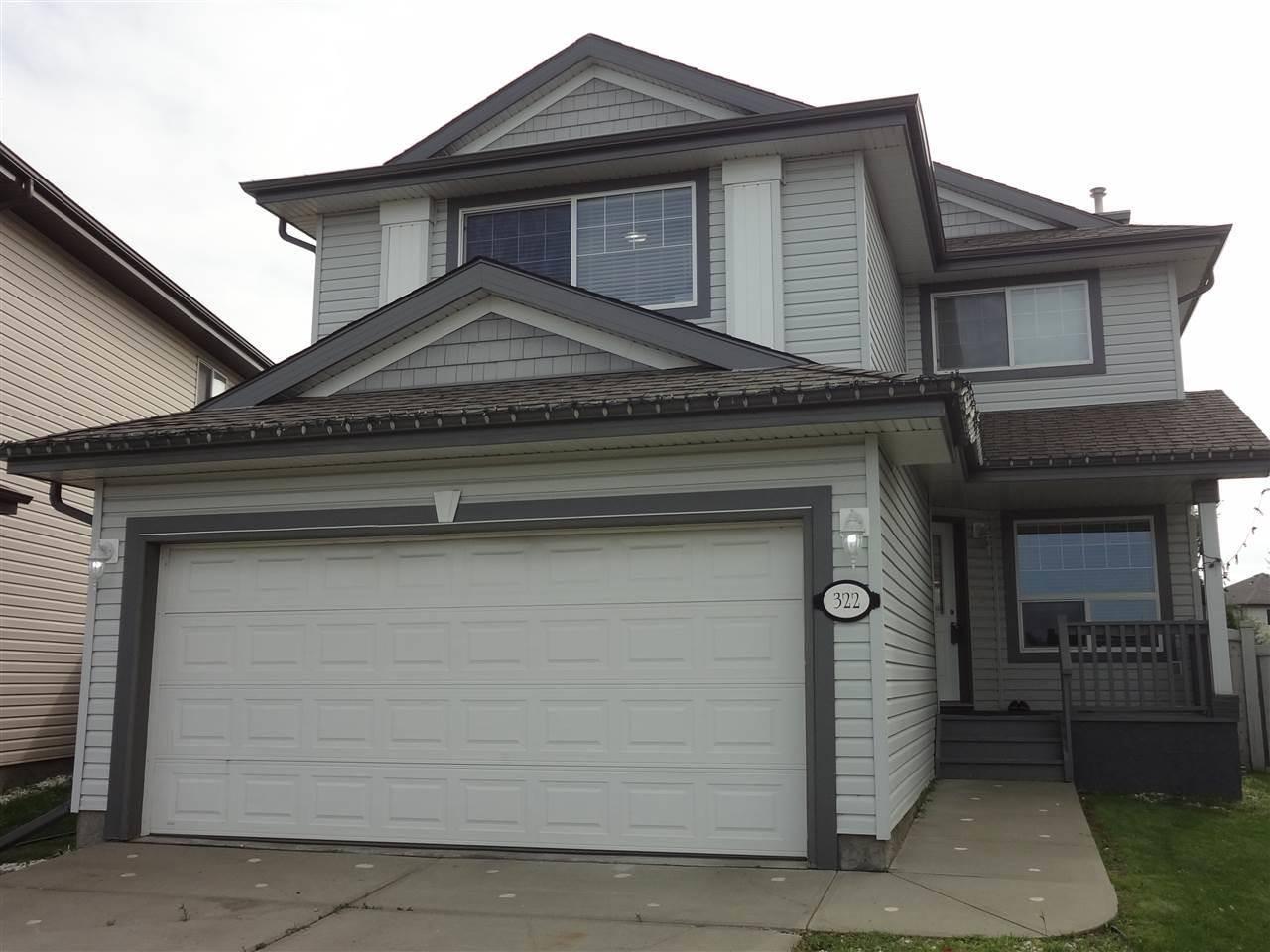 House for sale at 322 Gibb Cs Nw Edmonton Alberta - MLS: E4171022