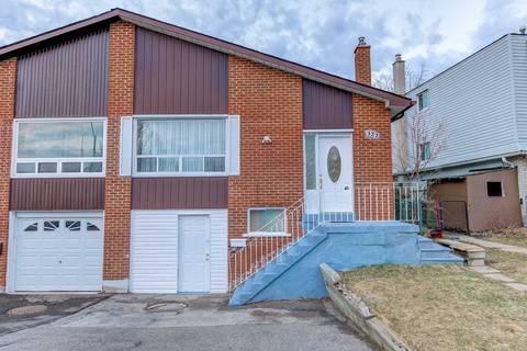 Townhouse for sale at 322 Hansen Rd Brampton Ontario - MLS: W4413452