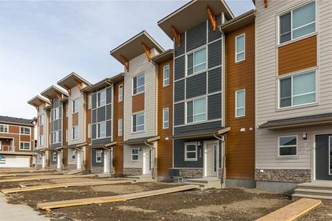 Townhouse for sale at 322 Harvest Hills Wy Northeast Calgary Alberta - MLS: C4289425