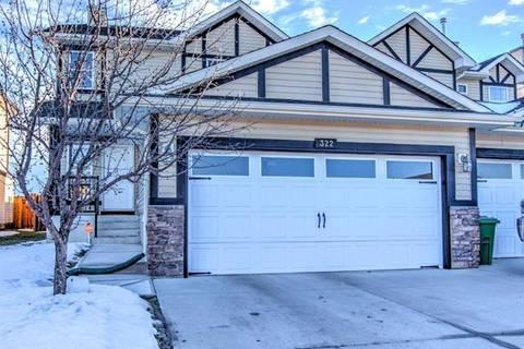 Townhouse for sale at 322 Ranch Ridge Ct Strathmore Alberta - MLS: C4220235