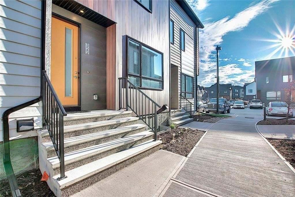 Townhouse for sale at 322 Redstone Cr NE Redstone, Calgary Alberta - MLS: C4297488