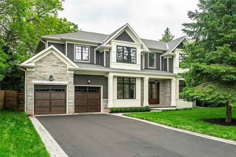 House for sale at 322 Sandhurst Dr Oakville Ontario - MLS: W4517513