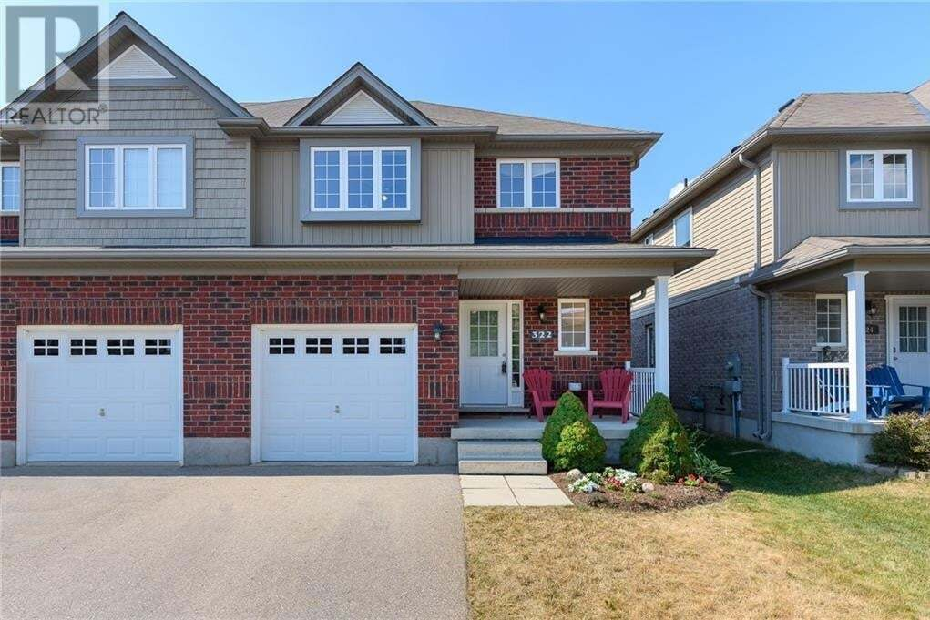 House for sale at 322 Vincent Dr Ayr Ontario - MLS: 30820941